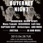 OUTERNET NIGHT @ Le Baron de Paris